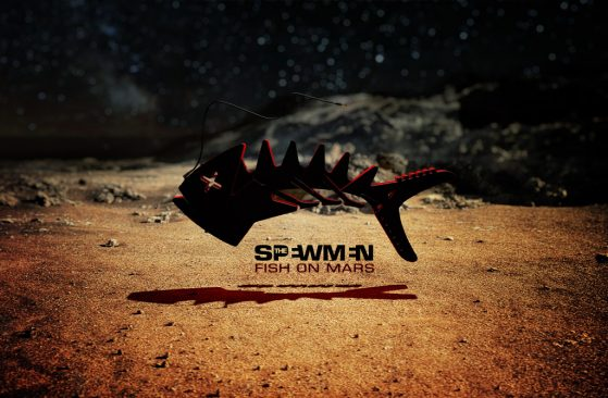 The_SPEWMEN_Fish_on_Mars_Album_cover