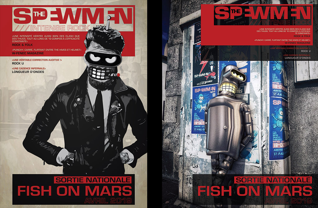 Campagne de sortie nationale pour Fish on Mars